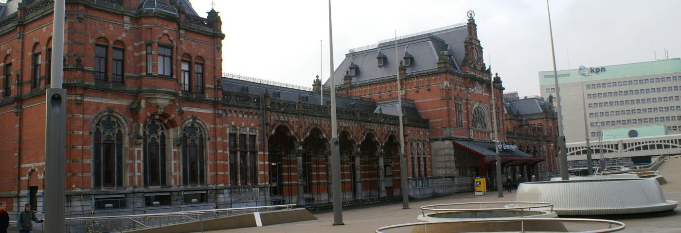Station Groningen - Foto: Dickelbers via Wikimedia Commons