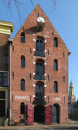 Pakhuis Libau, Hoge der A 5. - Foto: Wikimedia Commons