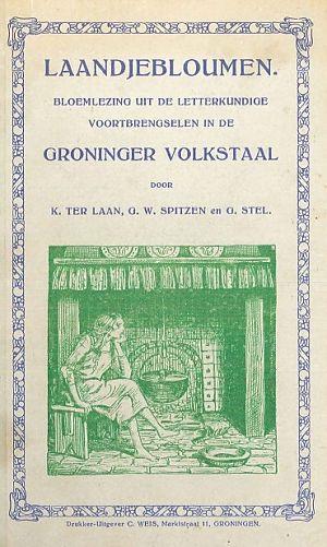 Een boekje 'Laandjebloumen' van uitgever Weis