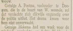 Pakes getuigenis, in: Tilburgse Courant, 10-05-1930